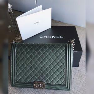 Large Chanel Boy Bag